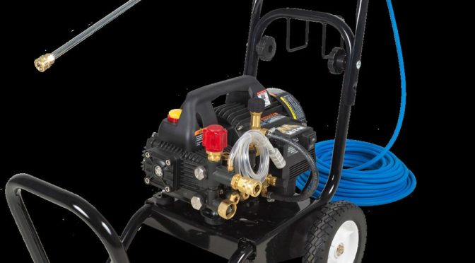 COVID-19 clean up: Pressure Washer Mister Combo Unit