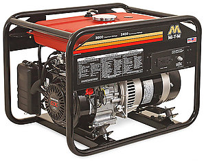 gas powered portable generator northern california
